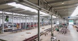 Nieuw bedrijfspand van Van den Brink Staalbouw bv te Barneveld